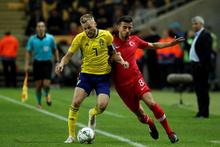 İsveç-Türkiye maçı fotoğrafları