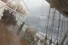 Denizde dehşet anları! Kaptanın hareketi olay oldu