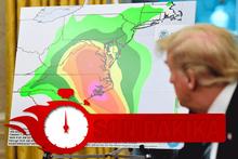 ABD canavarı bekliyor! 3 eyalette OHAL ilan edildi Trump dondu kaldı...