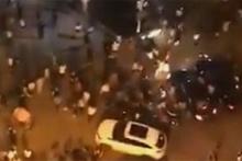 Araç yayaların arasına daldı: 3 ölü, 43 yaralı!