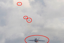 ABD savaş uçakları işte böyle kaçtı hem de peş peşe...