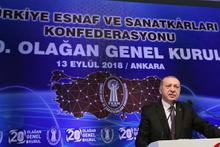 Erdoğan: 'Bugüne kadar Merkez Bankasının, enflasyon oranlarını tutturduğunu görmedim'
