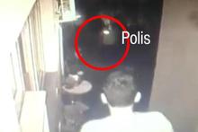 Hırsızlık için eve giren zanlı yakalandı