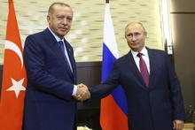 Bütün gözler Soçi'de kritik Erdoğan-Putin zirvesi başladı