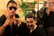 Maduro Nusret'te yemek yedi, ülkesi karıştı