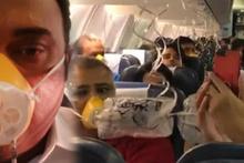 Uçakta onlarca yolcunun bir anda burnu kanadı