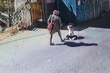 Annenin kızına yaptıkları isyan ettirdi kamera kayıttaydı