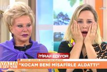 Kocasını banyoda bir yakınıyla çırıl çıplak bastı! Beyaz TV'de olay ifşa