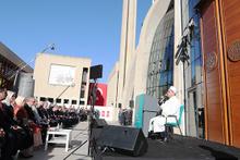 Diyanet İşleri Başkanı Erbaş, Köln'deki cami açılışında dua etti