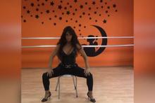 Selen Görgüzel'den cesur dans! Sosyal medya yıkıldı