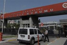 Halil Ünver'in cenazesi Adli Tıp Kurumuna getirildi