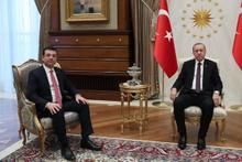 Cumhurbaşkanı Erdoğan, CHP'li İmamoğlu'nu kabul etti