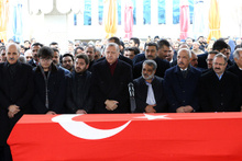 AK Parti Erzurum Milletvekili Aksak son yolculuğuna böyle uğurlandı