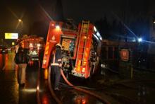 Eyüpsultan'da korkutan fabrika yangın!