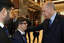 Cumhurbaşkanı Erdoğan onu Ankara'da ağırladı