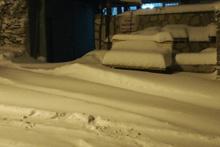 İzmir'de kar kalınlığı yarım metreyi aştı