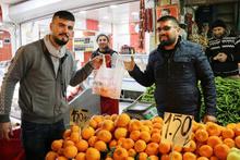 10 poşet getirene 1 kilo portakal bedava!