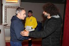İşte Sadık Çiftpınar'ın Fenerbahçe ile ilk antrenmanı