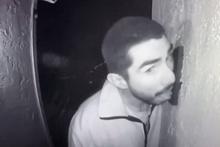 Hırsız 3 saat boyunca kapı zilini yaladı