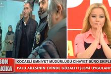 Canlı yayında Palu ailesine gözaltına alındı!