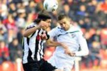 Bursa'da bol gollü maç