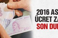 2016 asgari ücret zammı son durum neler değişiyor?