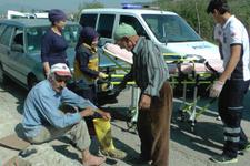 Yaralı işçi ambulans berbat olur dedi ve...