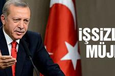 Erdoğan'dan işsizlere müjde İŞKUR'dan Katar'a...