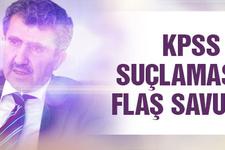 Ali Demir'den KPSS suçlamasına yanıt