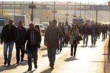 1 Mayıs'ta ulaşım yasakları vatandaşa çile oldu!