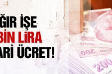 Ağır işte çalışana 3 bin lira asgari ücret!