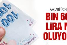 Asgari ücret bin 600 lira mı oluyor TÜİK ne dedi
