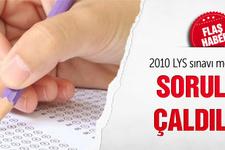 2010 üniversite sınavı soruları da çalınmış