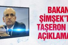 Bakan Şimşek'ten taşeron işçi açıklaması!