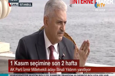 Binali Yıldırım: HDP barajı aştığı için sevindim