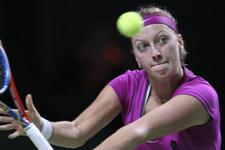 Kvitova yarı finale yükseldi