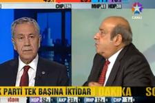 Bülent Arınç'la Hasip Kaplan'dan gergin tartışma