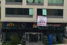 NTV Ankara Bürosu ve DHA binasını eylemciler bastı!