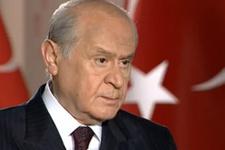 MHP lideri Devlet Bahçeli'den bomba açıklama