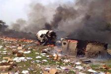 Güney Sudan'da uçak düştü en az 40 ölü