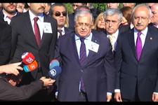 Kılıçdaroğlu ve Masum Türker, Ecevit'in kabrini ziyaret etti