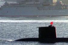 Olay Rus gemisine Türk denizaltısıyla cevap