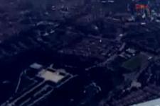 Ankara'daki patlama anı uçaktan böyle kaydedildi