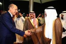 Cumhurbaşkanı Erdoğan umre yaptı! Kabe'den ilk kareler
