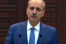 Numan Kurtulmuş'tan PKK saldırıları açıklaması