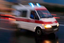 Malatya'da trenin çarptığı kadın öldü