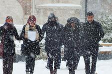 Bolu hava durumu kar birden bastıracak!