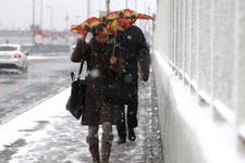 İstanbul hava durumu! Kar yağışı var