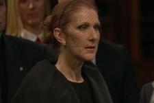 Celine Dion gözyaşları içinde aşkına veda etti