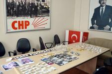 CHP binasına 'kaset' bıraktılar